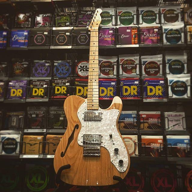 JUST IN: @fender Thinline Tele. This one speaks for itself! #guitar #guitarist #music #musician #gear #instrument #fender