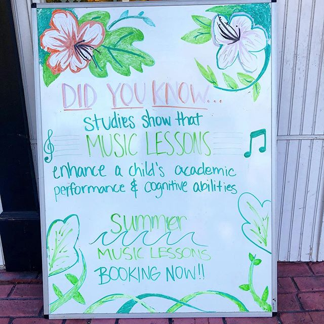Music lessons prove time and time again to build skills that last a lifetime. Stop in or call to book some lessons this summer!  #music #musiceducation #musiceducationmatters #darien #norwalk #stamford #education #darien_moms