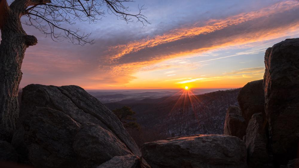 Hazel Mountain Overlook, Shenandoah National Park
