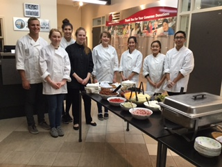 Liberty HS Culinary Program    Catering PAC on 1.10.17