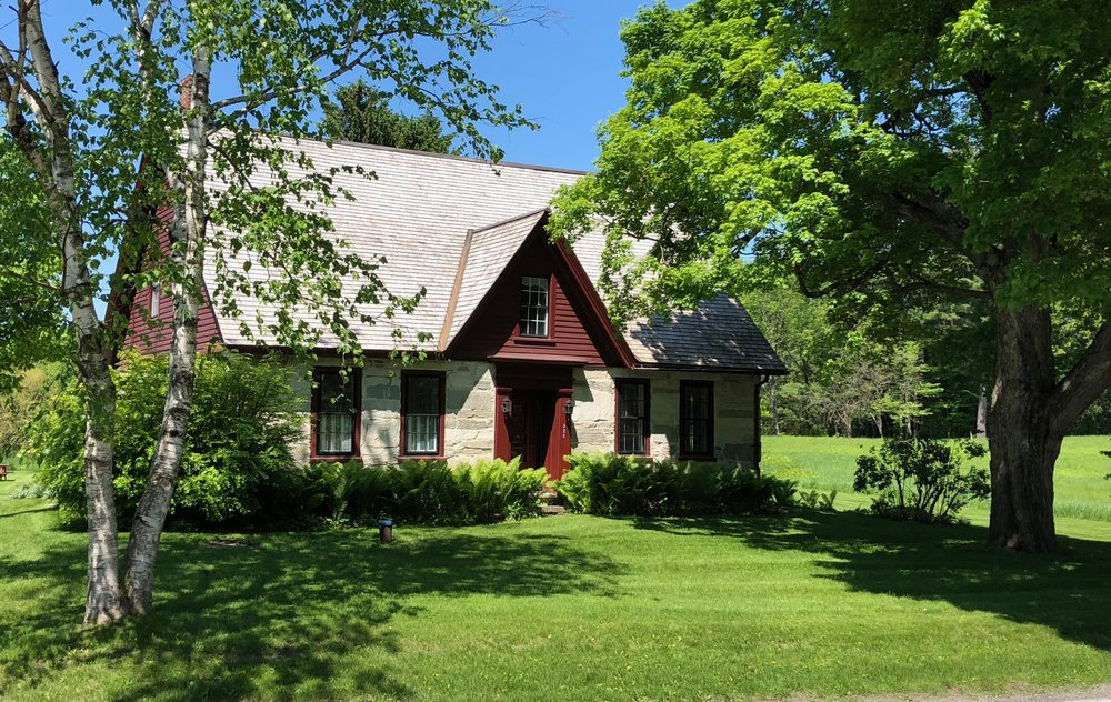 The Robert Frost Stone House Museum (Photo by Phil Holland)