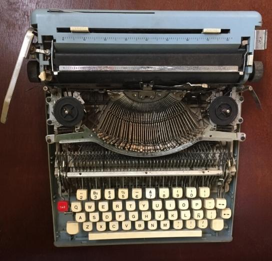 Ernest Hemingway's typewriter - Havana, Cuba