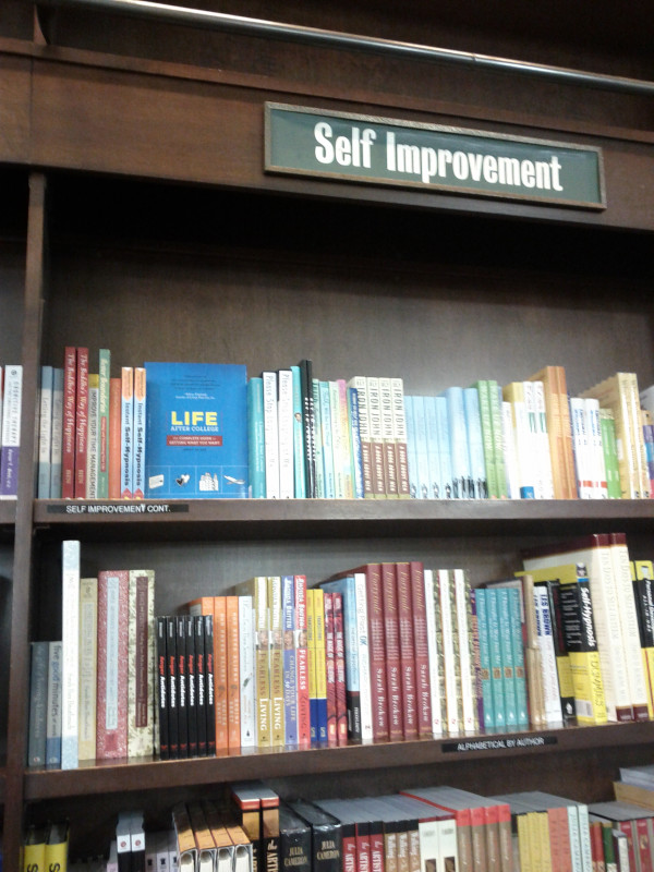 Life After College Book - At Barnes & Noble in Union Square!