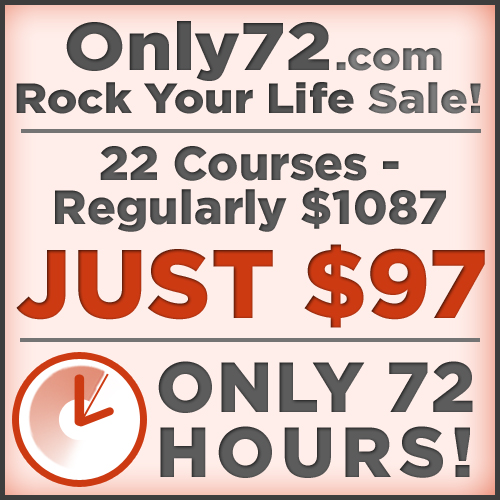 Only72.com button - 22 courses for $97