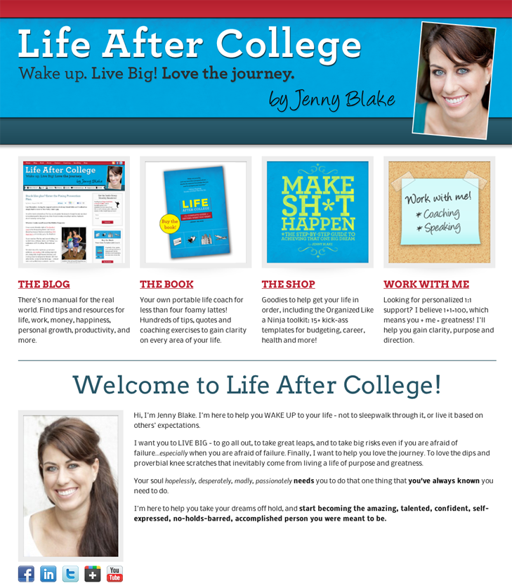 New-life-after-college-landing-page