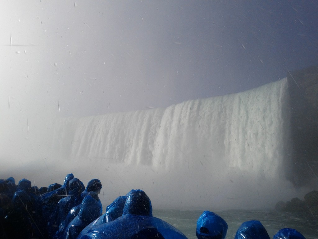 Niagara Falls from the Maid of the Mist Boat