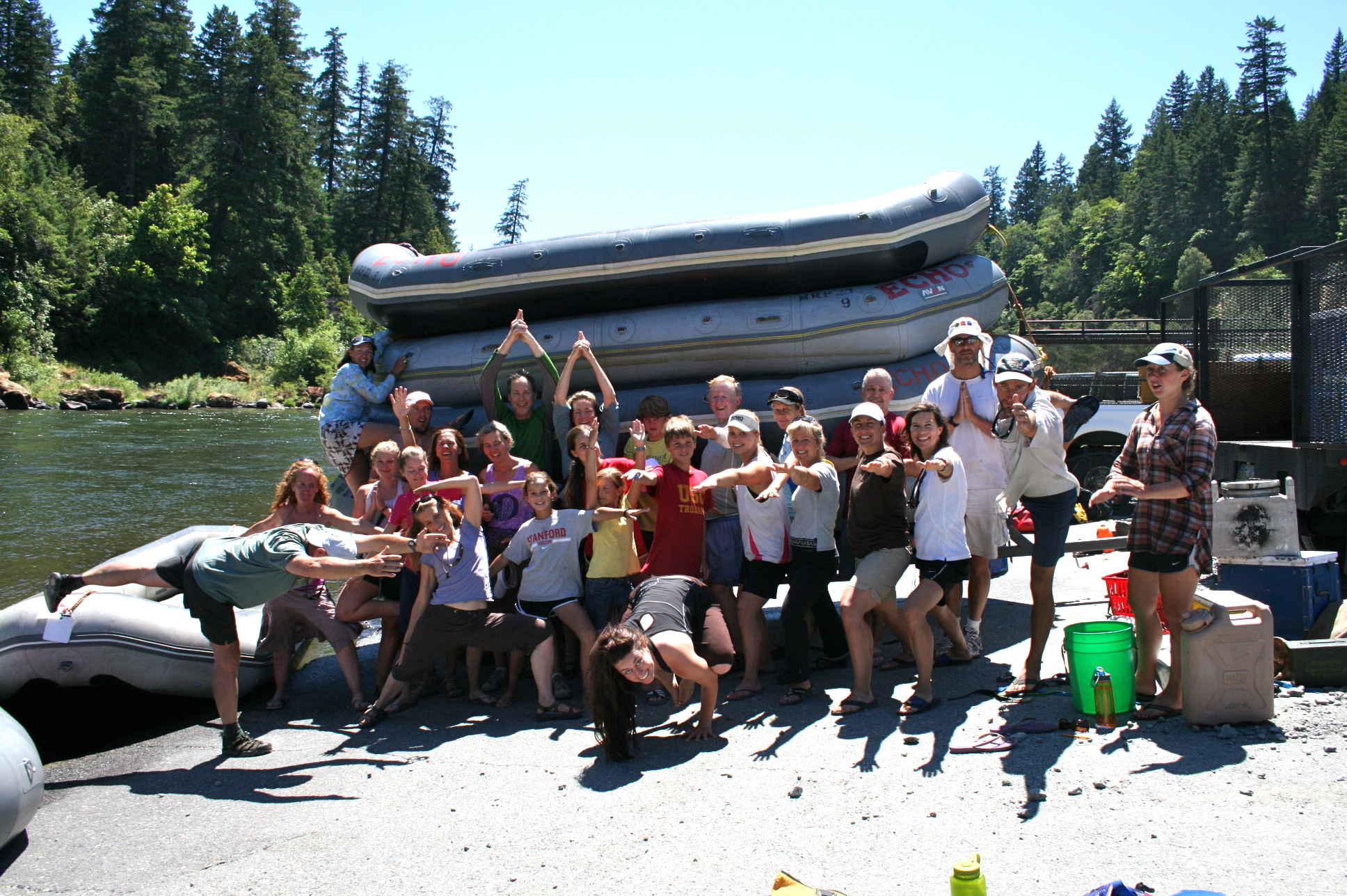 River Rafting - Group Photo