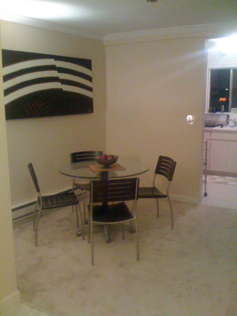 BEFORE: The dining room I never used.
