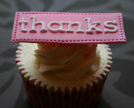 cupcake thanks