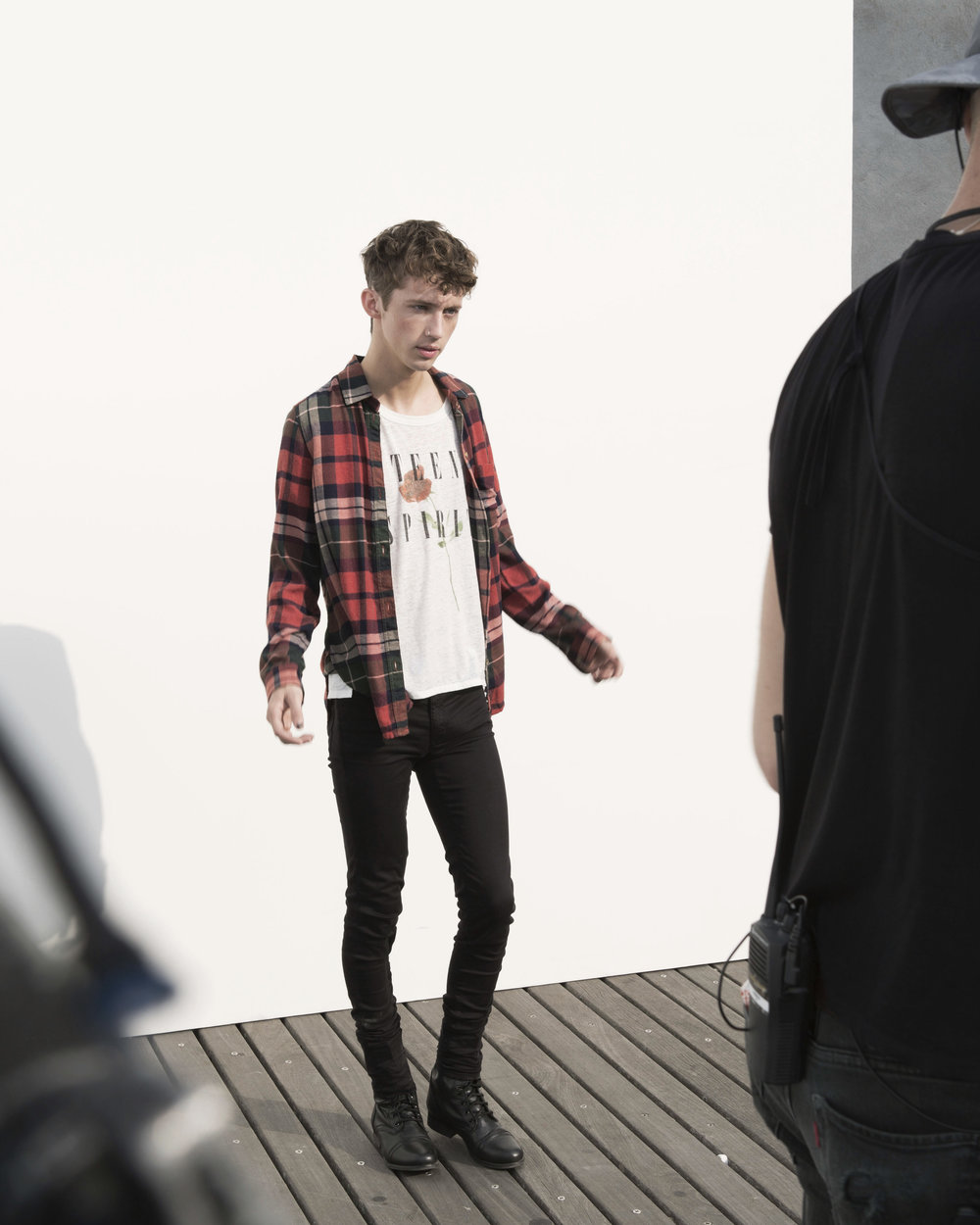 Troye Sivan<br>for American Eagle