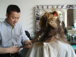 Moved to NYC in 1988 from Tokyo, Japan. Opened hairppy salon in April, 2005.