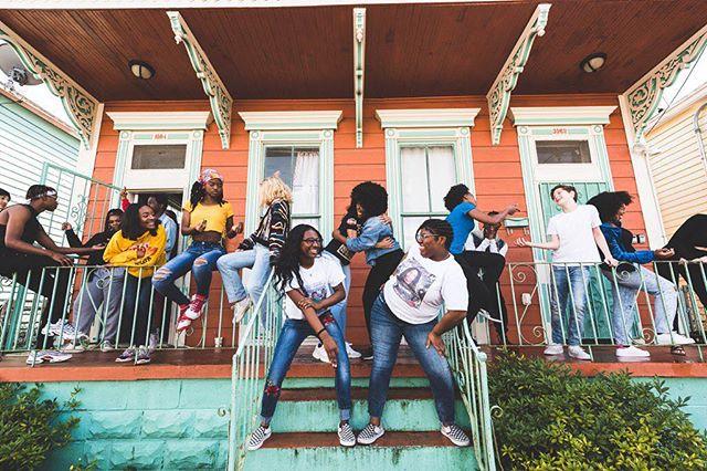 2 days till Block Party Time!!!! ARE YOU COMING?!?!? 🏠Arise Academy, 11am-3pm • 📸: @de_orleans ✨ #ReclaimOurHome  #DanceForSocialChange #DSC2019