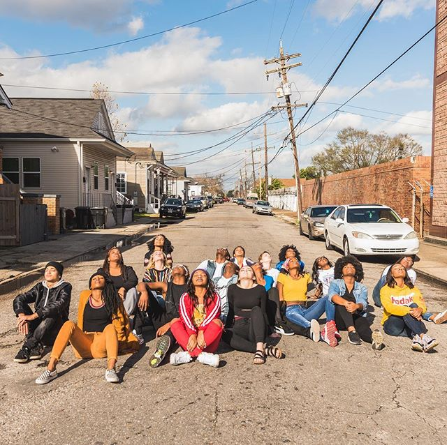 THANK YOU NEW ORLEANS! We are filled with love from our community, our mentors, our teachers, and loved ones. #DANCEFORSOCIALCHANGE is not over. Stay tuned for our tour schedule and post festival events. The conversation about gentrification and displacement is a year long initiative, so if you'd like to join, partner, and/or mentor us - LET US KNOW! We'd love to hear from you. Reach out to us in our 📩dm's or contact @dancinggrounds for more info. Thank you again and stay tuned for more info on what we're doing and where we're going! 🏠#ReclaimingOurHome  #DontGentrifyMe #DgUprising #DSC19  #NolaYouth