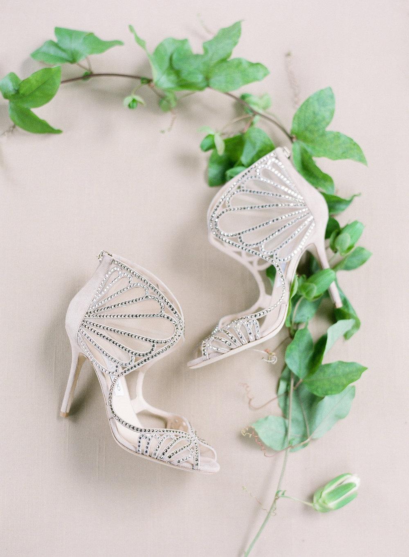 Jimmy Choos shoes bridal