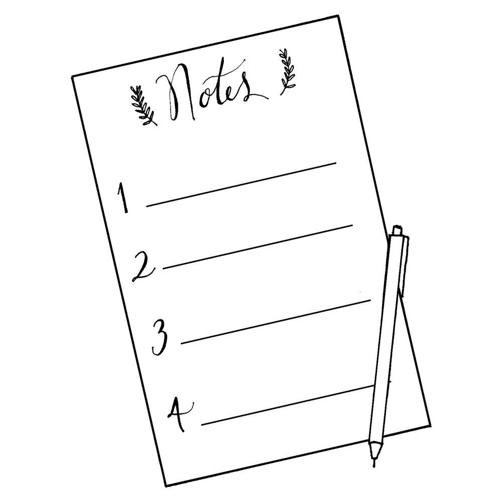 wedding calendar checklist