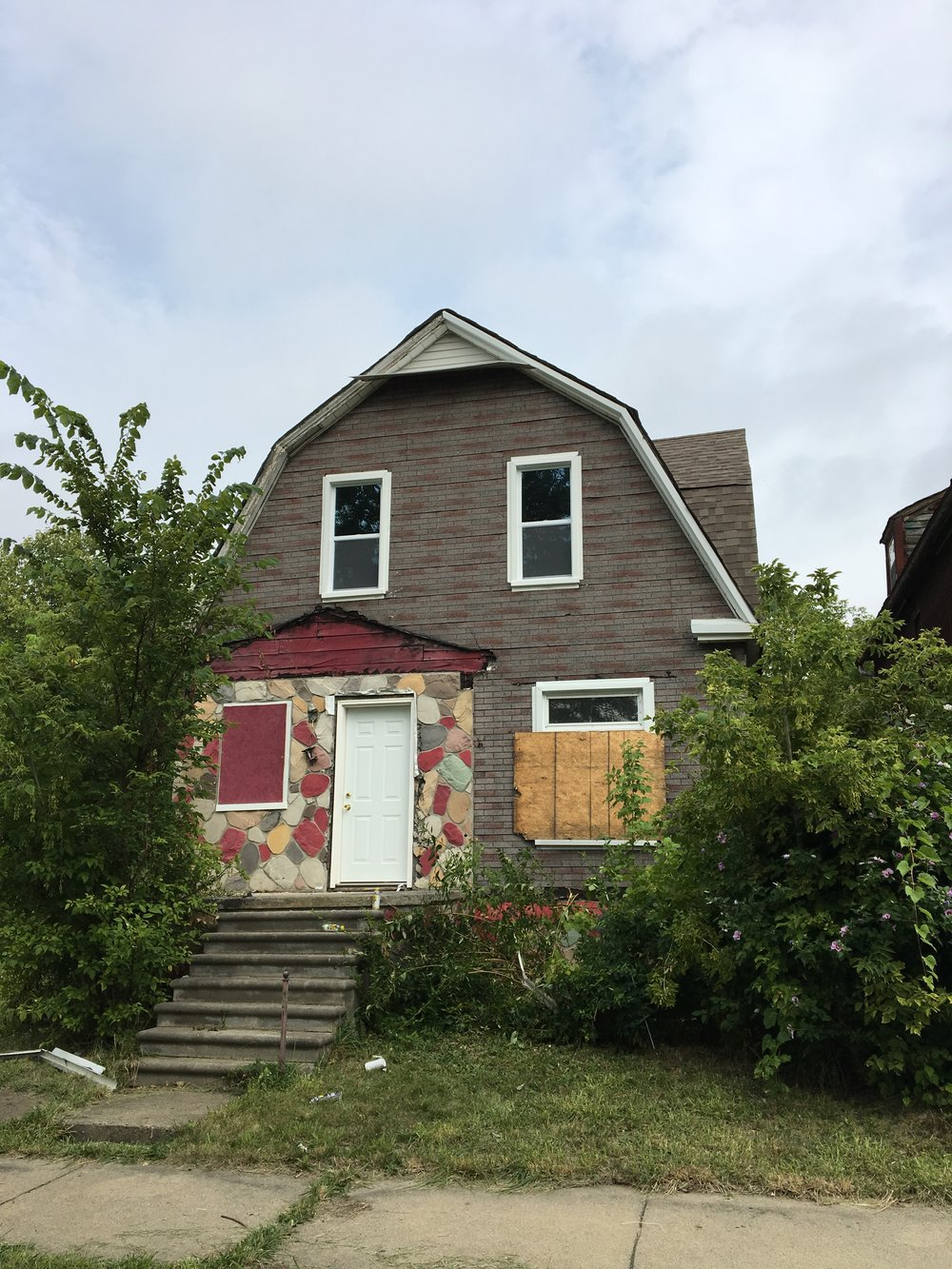 The Fourth Write A House - With new windows and new doors, this home has just started renovations. We aim to replace the siding and the electrical in the next two months.