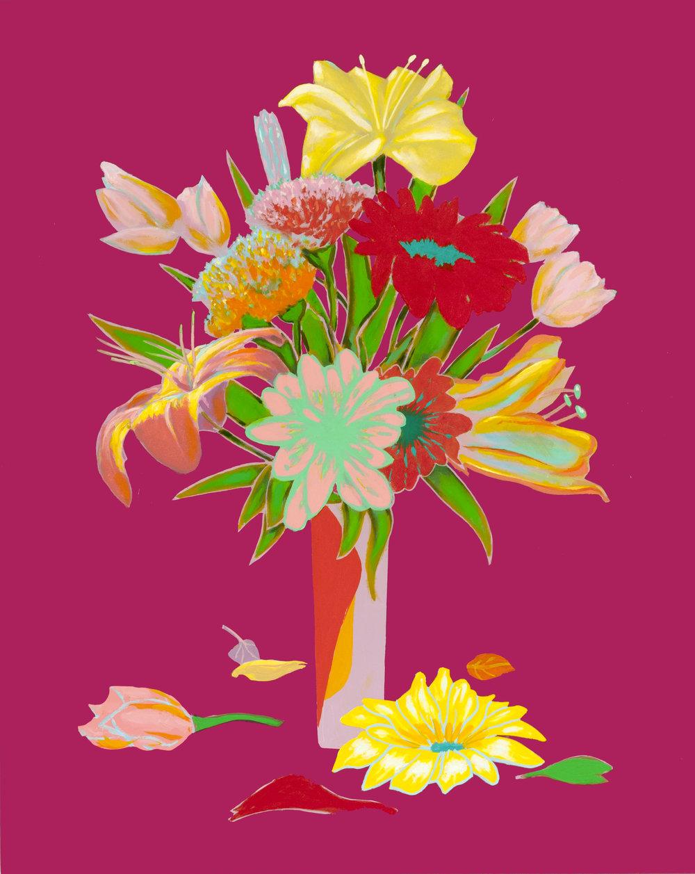 Unrepentant Flowers: Magenta