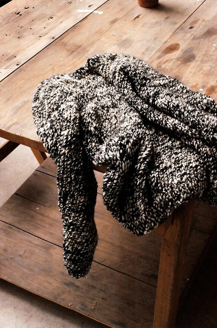100% wool.Hand spun.Hand dyed. -