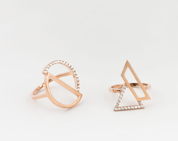 SIMPLICITY - The simplicity of the pieces transform them into versatile yet unique jewels, able to be worn with anything, but sure to add an air of elegance. The collections of London's brightest new jewellery brand are essential for the minimalist sartorialist.