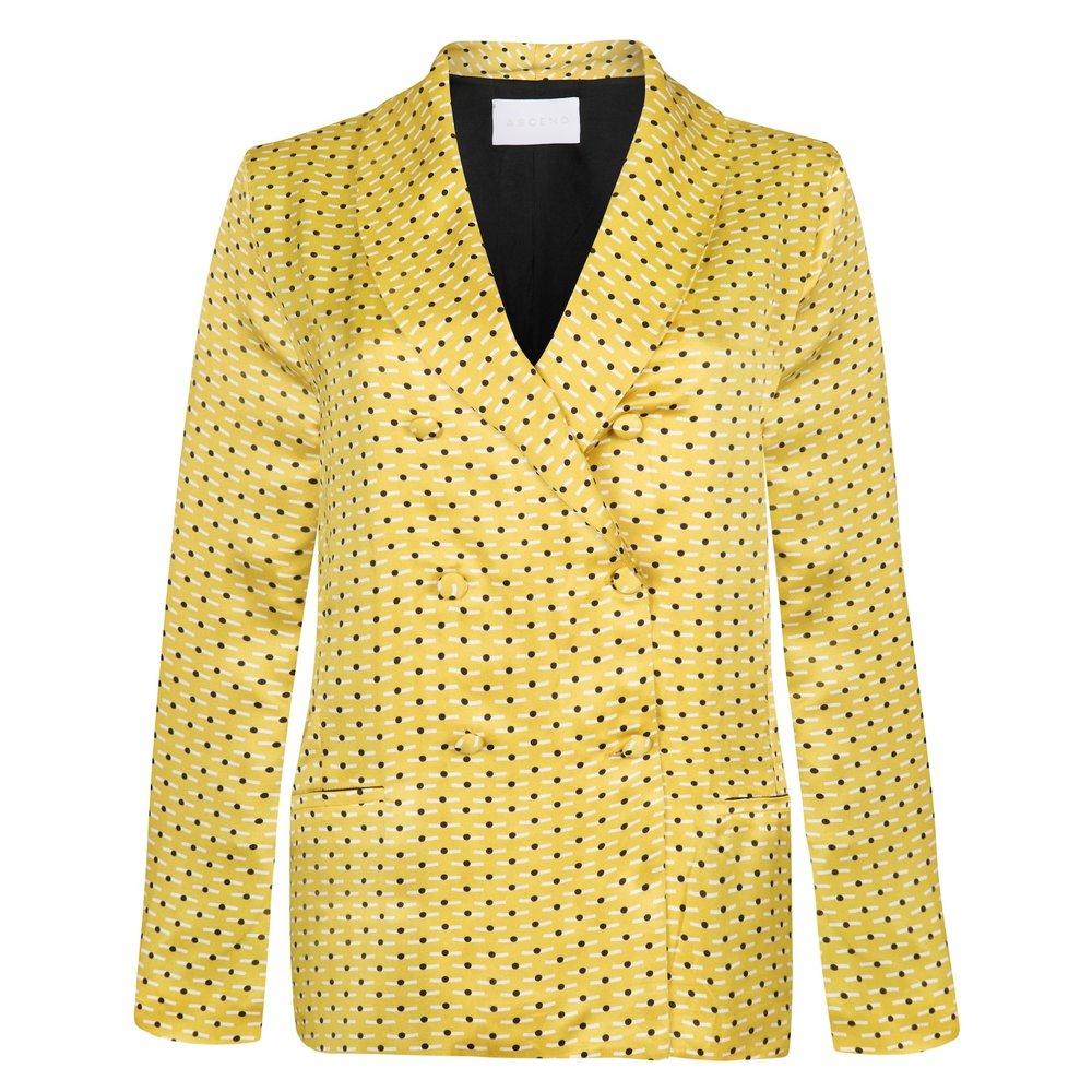 Yellow Dot Blazer, £525,    Shop