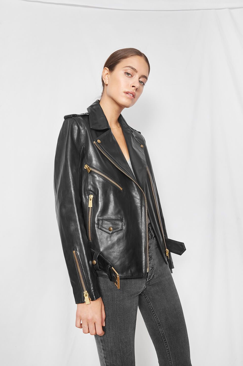 Anine Bing Vintage Leather Jacket, €899 - There's really nothing not to love about Anine Bing, from the down-to-earth creator to the boho rocker vibe of the whole brand. We'd really buy all of their pieces if we could, but while we're waiting for the Bardot Leather Jacket to appear, we're happy to rock this dusty vintage jacket.