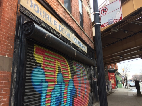 The Double Door. Shuttered at its original location forever. But hey, there's another place for brunch just a little farther down the sidewalk. So that's cool.