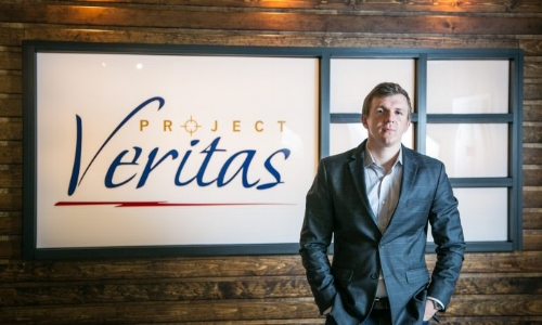 James O'Keefe. Not undercover.