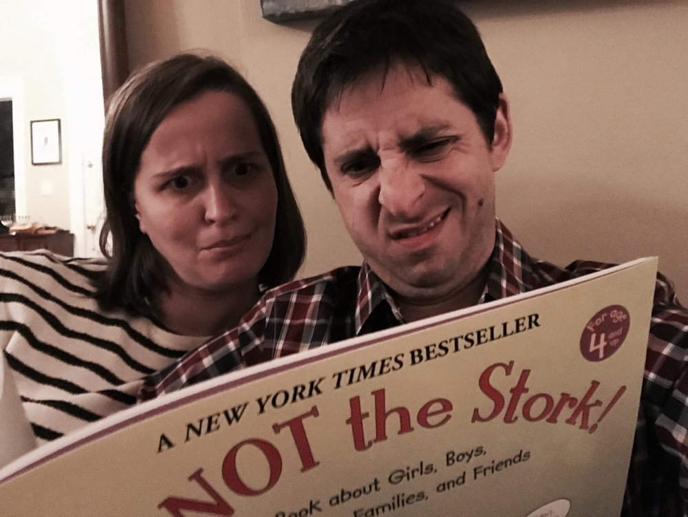 The author and his wife give themselves a crash course in baby making.