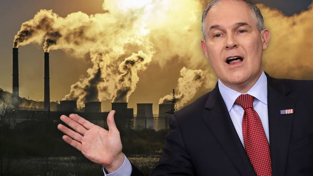 EPA Administrator Scott Pruitt's lip service may be a major cause of greenhouse gases.