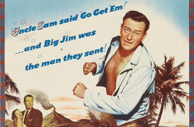John Wayne fought under an alias.