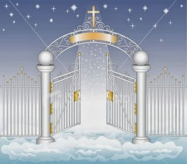 The outdated Pearly Gates. The locks don't even work.
