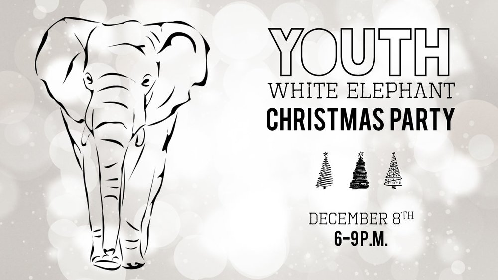 pleasant valley church youth white elephant christmas party