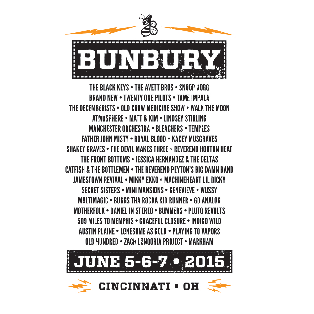 Bunbury 2015 Raglan (Back)