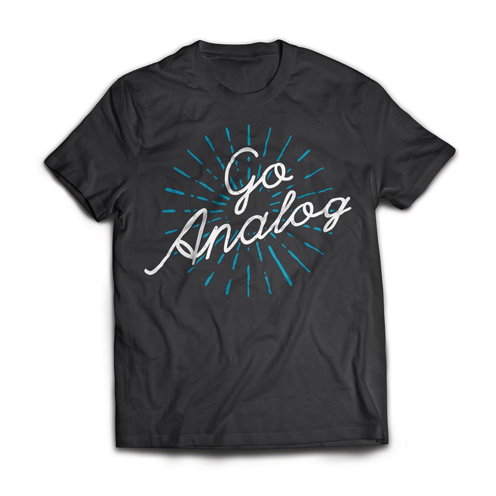 Go Analog Tee