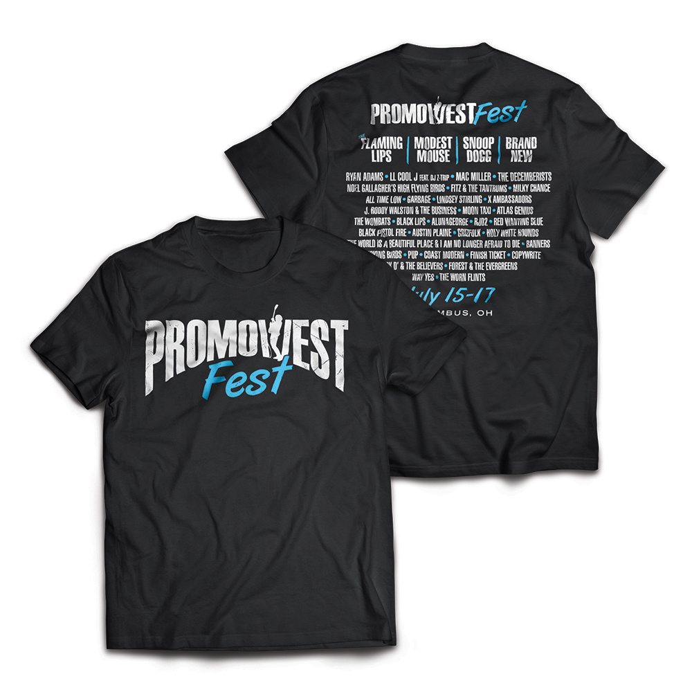 PromoWest Fest Event Tee