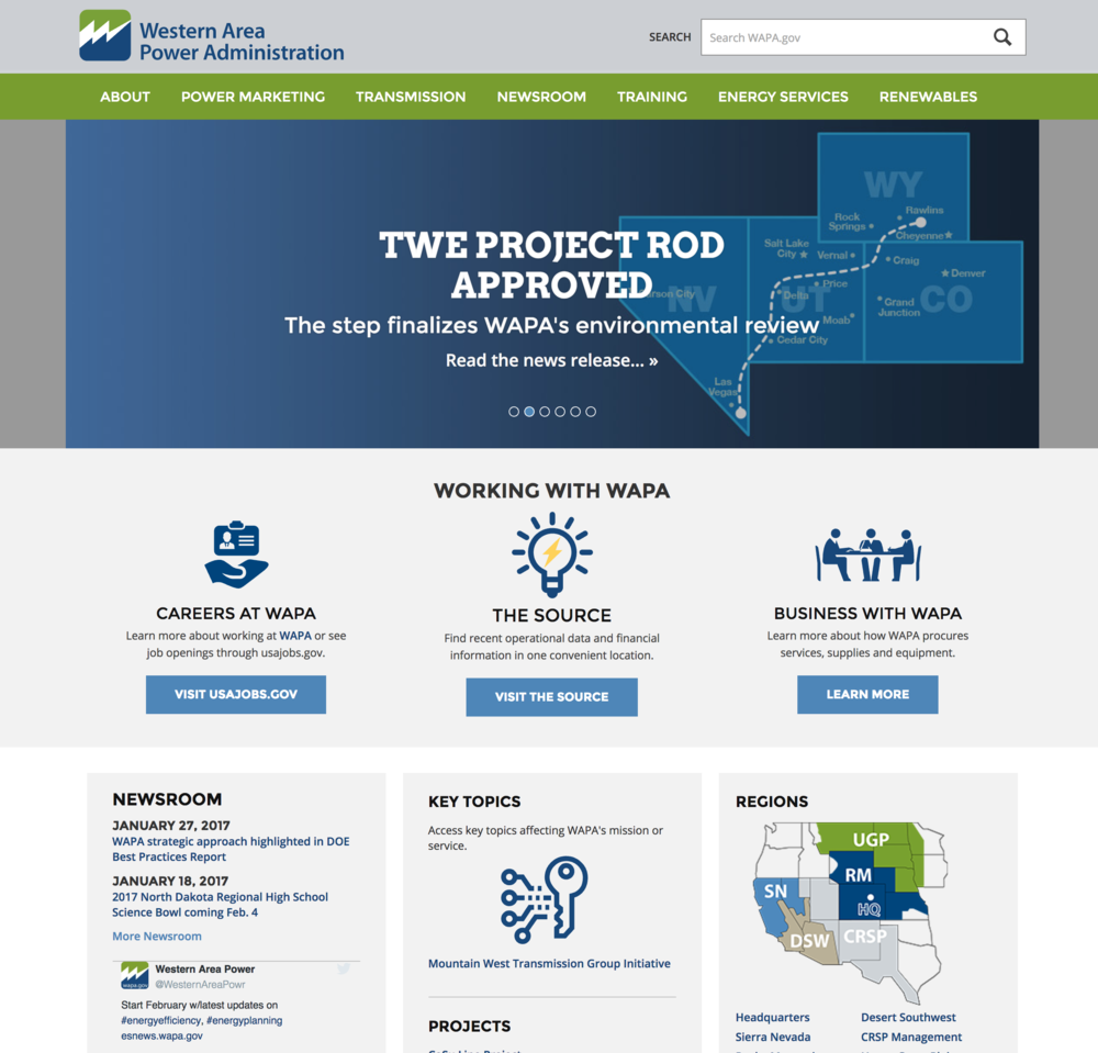 Western Area Power Association, a partner of the Western Colorado Landscape Collaborative