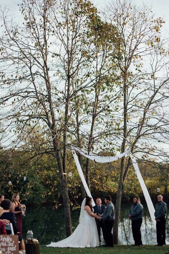 The beautiful ceremony | Kingsport, TN Wedding Photography