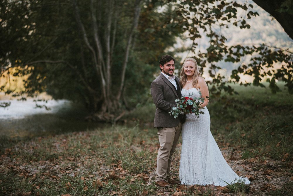 4 - The Big Day - Whether you're hiking up Roan Mountain to elope with your significant other or walking down the aisle at a local church with your loved ones gathered, we will be there for you. Need a tissue? A Band-aid? We got you!