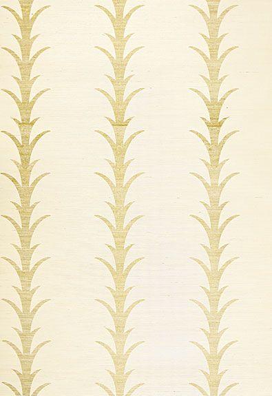 {Powder Bath} Acanthus Stripe