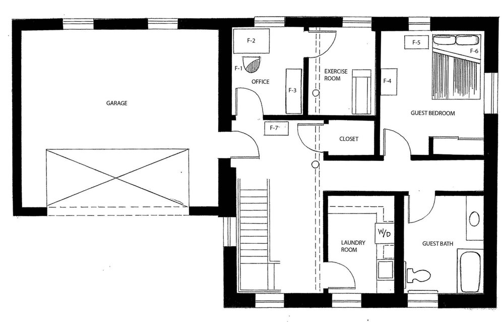 Revised Basement Floor Plan