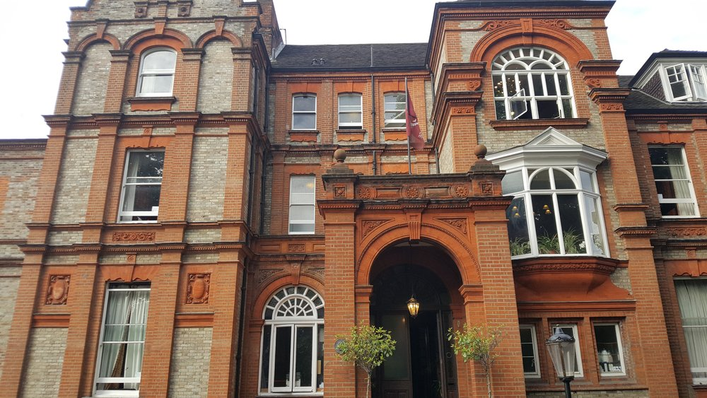 Palmer's Lodge in Swiss Cottage London. Such a beautiful building.