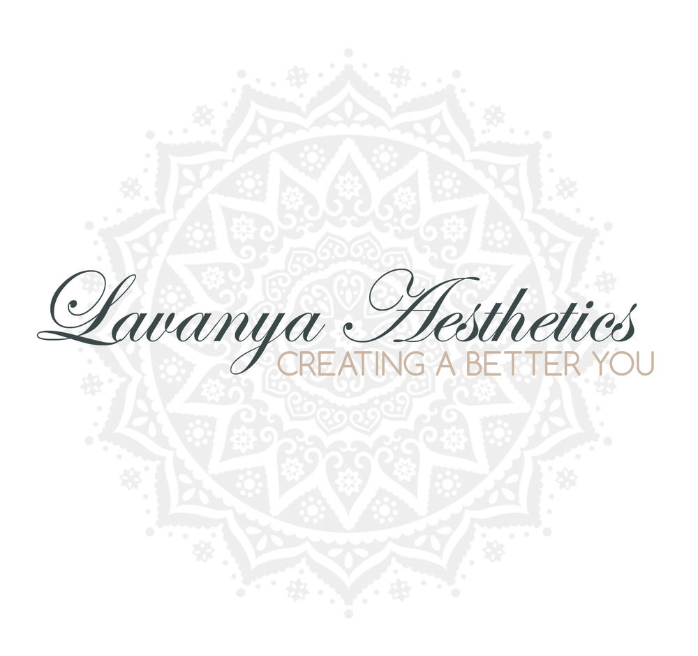 www.lavanyaaesthetics.com Website, Logo & Marketing material designed by Just-Jess