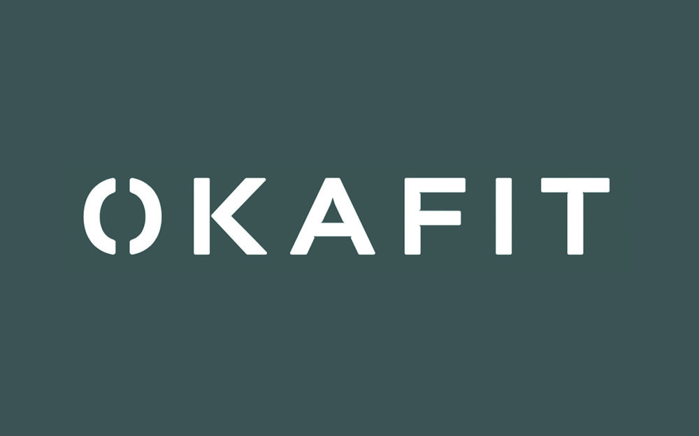 Okafit business card design -