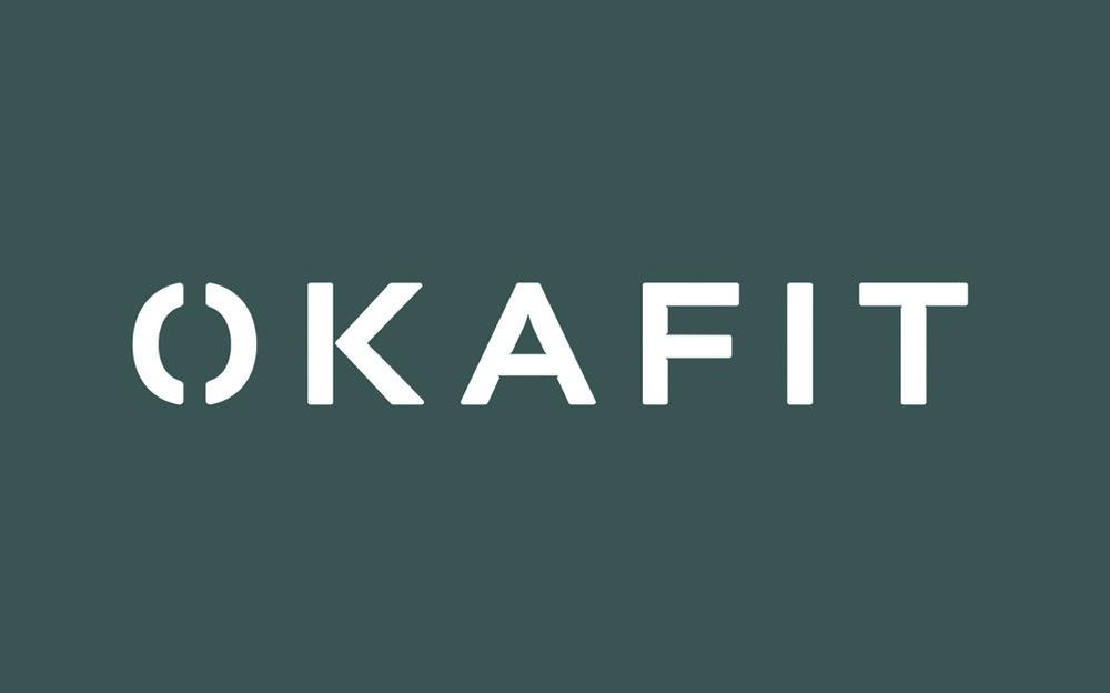 Okafit business card design -