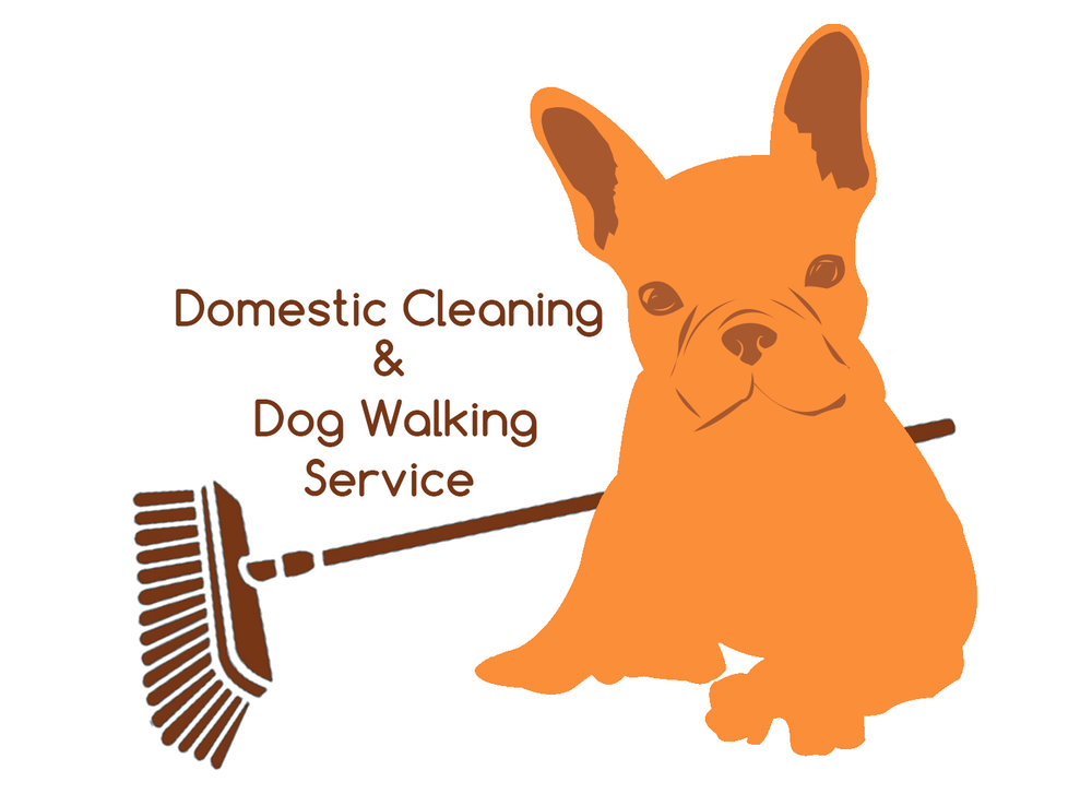 Domestic cleaning & dog walking business logo