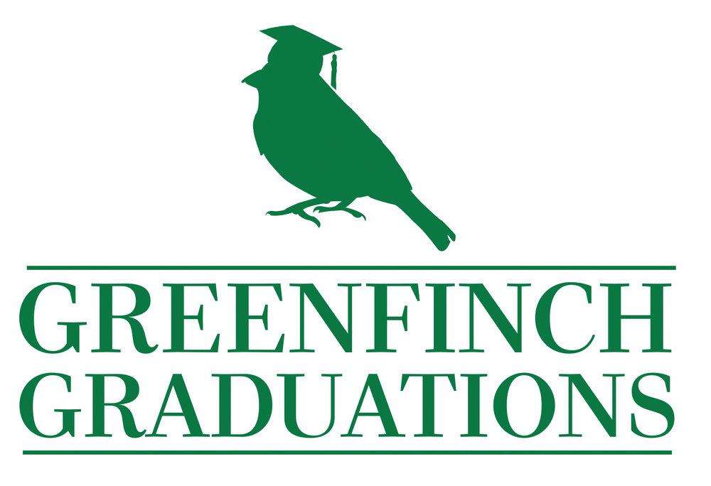 Greenfinch Graduations logo