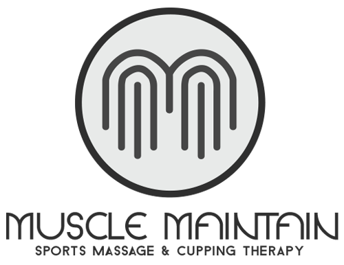 Muscle Maintain - Sports Therapy Massage Business Logo and Contact Cards