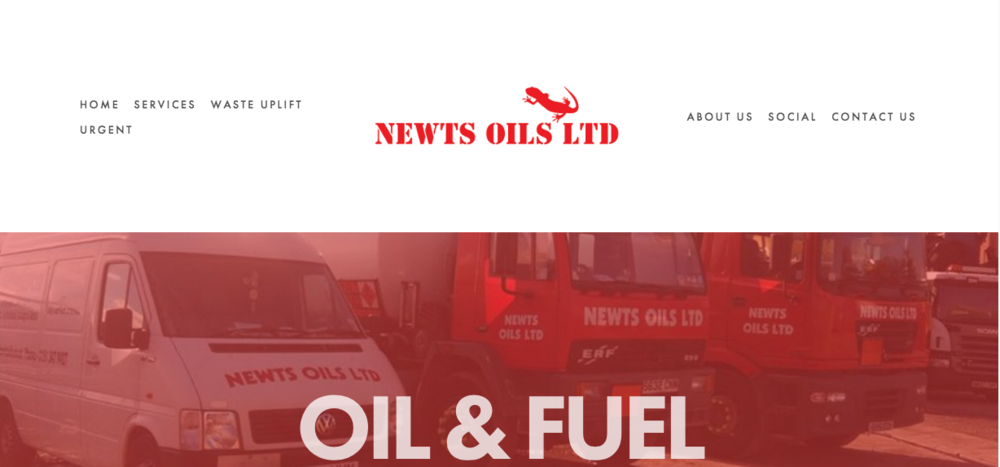 NEWTS OILS LTD  www.newtsoilsltd.co.uk