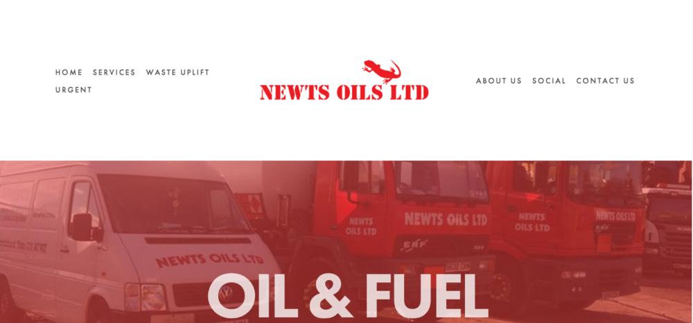 Newts Oils Ltd  www.newtsoilsltd.co.uk