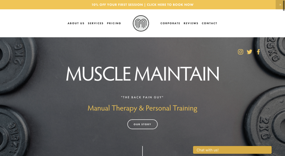 MUSCLE MAINTAIN  WWW.MUSCLEMAINTAIN.CO.UK